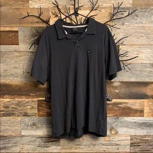 Men's Black Oakley Polo